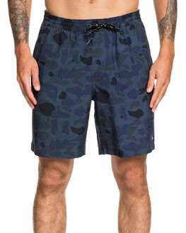 MIDNIGHT NAVY MENS CLOTHING QUIKSILVER BOARDSHORTS - EQMWS03126-BSL6