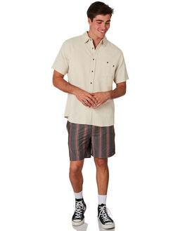 BLACK MENS CLOTHING RUSTY BOARDSHORTS - BSM1398BLK