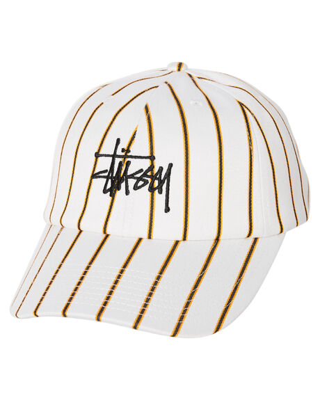 OFF WHITE MENS ACCESSORIES STUSSY HEADWEAR - ST702000OWT