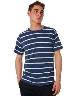 INSIGNIA BLUE MENS CLOTHING BANKS TEES - WTS0304ISB