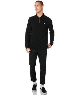 BLACK MENS CLOTHING NO NEWS SHIRTS - N5194140BLACK