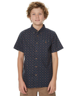 NAVY KIDS BOYS BILLABONG SHIRTS - 8571208NVY