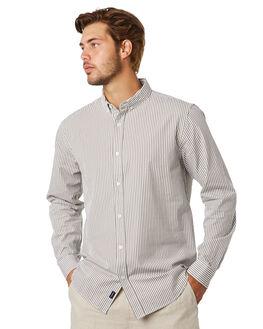 KHAKI MENS CLOTHING ACADEMY BRAND SHIRTS - 20S812KHAKI
