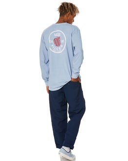 DRESS BLUES MENS CLOTHING VANS PANTS - VN0A49S7LKZDBLU