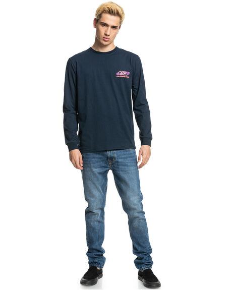 NAVY BLAZER MENS CLOTHING QUIKSILVER TEES - EQYZT06552-BYJ0
