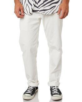 WHITE MENS CLOTHING BARNEY COOLS PANTS - 705-CC3IWHI