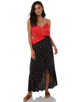 CHARCOAL WOMENS CLOTHING TIGERLILY SKIRTS - T383276CHAR