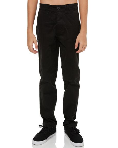 BLACK KIDS BOYS SWELL PANTS - S3183193BLACK