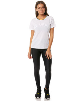 WHITE WOMENS CLOTHING THE UPSIDE ACTIVEWEAR - UPL1772WHT