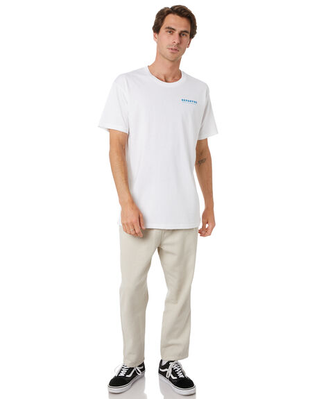 WHITE MENS CLOTHING DEPACTUS TEES - D5212003WHT