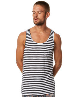 CHARCOAL MENS CLOTHING RHYTHM SINGLETS - APR17-CS04CHAR