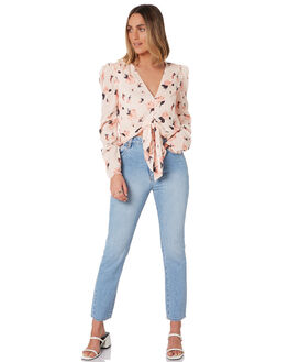 FRENCH ROSE WOMENS CLOTHING THE EAST ORDER FASHION TOPS - EO200327T_FROSE