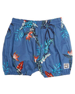 HAWAII DARK BLUE KIDS BABY SWEET CHILD OF MINE CLOTHING - NAPNAPPNTDRKBL