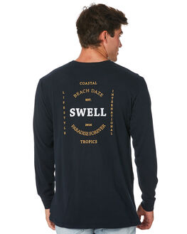 NAVY MENS CLOTHING SWELL TEES - S5194100NAVY