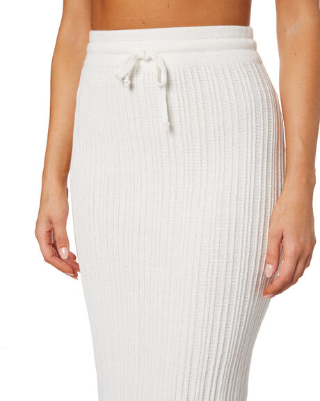 WHITE WOMENS CLOTHING RUE STIIC SKIRTS - WS-20-K-20-WCT
