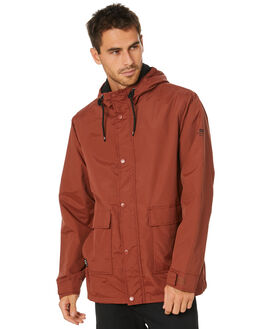 RUST MENS CLOTHING GLOBE JACKETS - GB01837005RUST