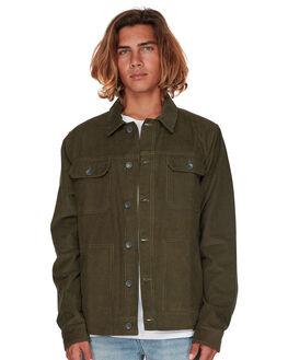 MILITARY MENS CLOTHING BILLABONG JACKETS - 9595919MILTR
