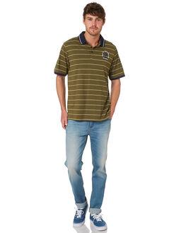 OLIVE CANVAS MENS CLOTHING HURLEY SHIRTS - AJW0008395