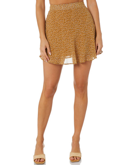 PRINT WOMENS CLOTHING ALL ABOUT EVE SKIRTS - 6473067PRNT