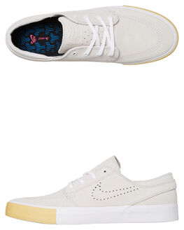 WHITE MENS FOOTWEAR NIKE SKATE SHOES - CD6612-109