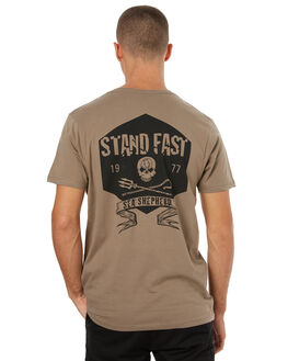 STONE MENS CLOTHING SEA SHEPHERD TEES - SSA834SSTONE