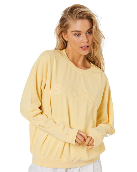 BUTTER WOMENS CLOTHING STUSSY JUMPERS - ST1M0192BUT