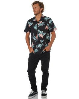 BLACK MENS CLOTHING SWELL SHIRTS - S5184188BLACK