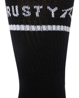 BLACK MENS CLOTHING RUSTY SOCKS + UNDERWEAR - SXM0204BLK