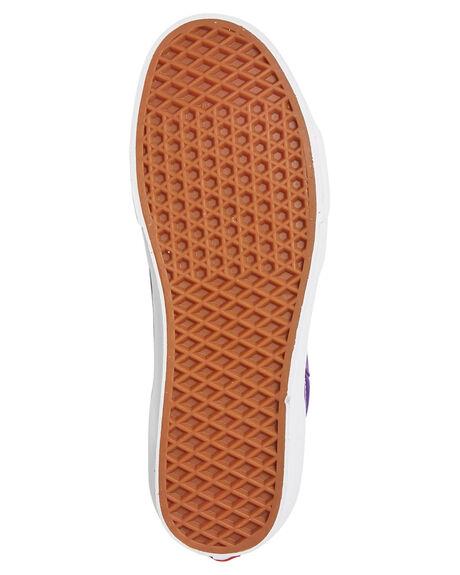 PURPLE WOMENS FOOTWEAR VANS SNEAKERS - SSVNA4BV6V7FW