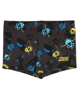 GREY MULTI KIDS TODDLER BOYS ZOGGS SWIMWEAR - 6005175GRYMU