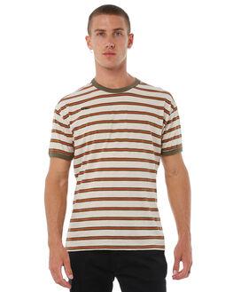 HEATHER CREAM MENS CLOTHING HURLEY TEES - AJ7187229