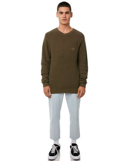 MILITARY MENS CLOTHING STUSSY KNITS + CARDIGANS - ST086302MILIT