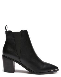 BLACK WOMENS FOOTWEAR BILLINI BOOTS - B1003BLK