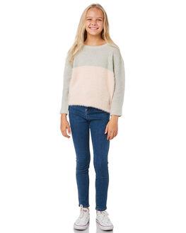 WESTERN BLUE KIDS GIRLS RIDERS BY LEE PANTS - R-80120T-KQ0