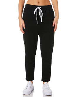 BLACK WOMENS CLOTHING C&M CAMILLA AND MARC PANTS - UCMP4313BLK