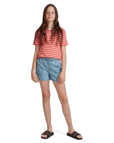 DEEP SEA CORAL KIDS GIRLS ROXY TOPS - ERGZT03643-MLF3