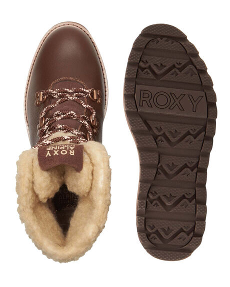CHOCOLATE WOMENS FOOTWEAR ROXY BOOTS - ARJB700700-CHL
