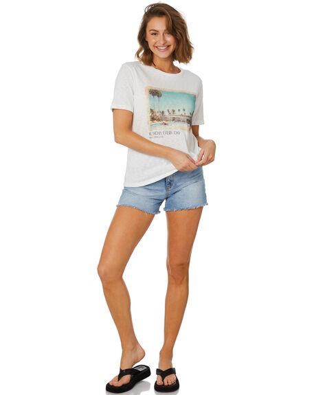 WHITE WOMENS CLOTHING MINKPINK TEES - MG2104000WHT