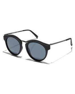 BLACK RUBBER UNISEX ADULTS LE SPECS SUNGLASSES - 1702045BLKRB