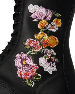 BLACK WOMENS FOOTWEAR DR. MARTENS BOOTS - SS24062001BLKW