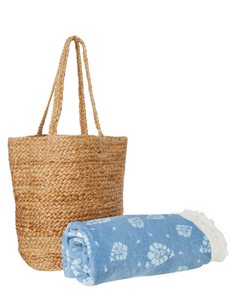 Wanderlust Bag and Round Towel