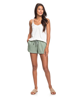 LILY PAD WOMENS CLOTHING ROXY SHORTS - ERJNS03185-GJN0