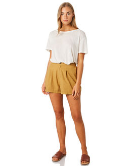 MUSTARD WOMENS CLOTHING SWELL SHORTS - S8201233MUSTD