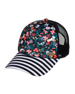 ANTHRACITE BOUQUET WOMENS ACCESSORIES ROXY HEADWEAR - ERJHA03649-KVJ8