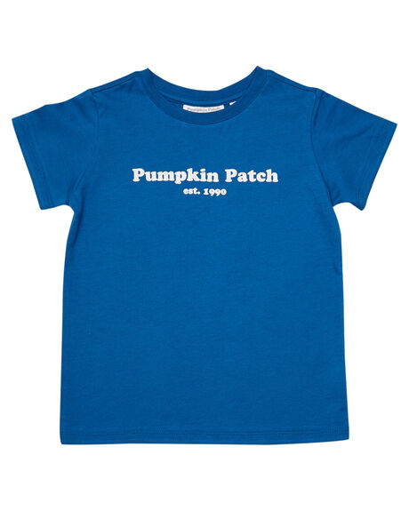 BLUE KIDS BOYS PUMPKIN PATCH TOPS - 20TB8027TPPBLUE