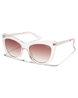 PINK BROWN WOMENS ACCESSORIES QUAY EYEWEAR SUNGLASSES - QW-000276PNKBR 5446623f8361