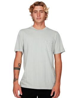 CEMENT MENS CLOTHING RVCA TEES - RV-R181066-CEM