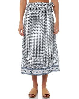 PRINT WOMENS CLOTHING ELWOOD SKIRTS - W81612PRINT