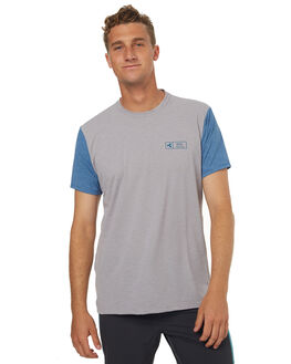 HEATHER ALLOY BLUE SURF RASHVESTS XCEL MENS - MLM62517HAF
