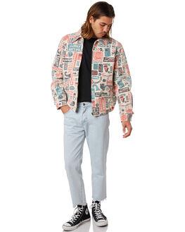 MULTI MENS CLOTHING DEUS EX MACHINA JACKETS - DMS86665MULTI